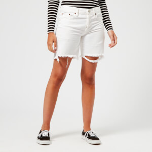 Polo Ralph Lauren Women's Boyfriend Shorts - White