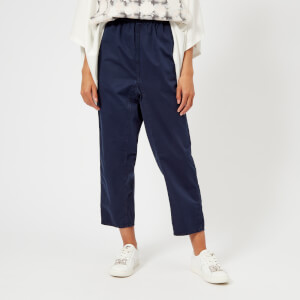MM6 Maison Margiela Women's Cotton Garment Dyed Trousers - Indigo