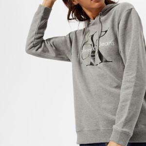 Calvin Klein Women's CK True Icon Hoody - Light Grey Heather