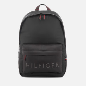 Tommy Hilfiger Men's Light Nylon Backpack - Black