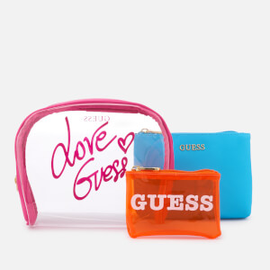 Guess Women's Paloma All in One Wash Bag - Fuchsia Multi