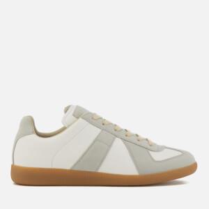 Maison Margiela Men's Replica Sneakers - White/Amber Sole