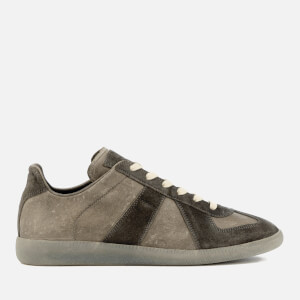 Maison Margiela Men's Vintage Treatment Replica Sneakers - Truffle/Light Grey Sole