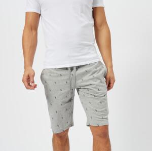 Polo Ralph Lauren Men's Slim Lounge Shorts - Andover Heather/Cruise Navy