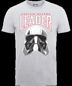 T-Shirt Homme Star Wars : Les Derniers Jedi Captain Phasma - Gris
