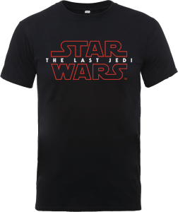 Star Wars: The Last Jedi Heren T-shirt - Zwart