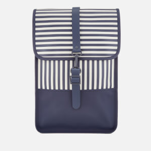 RAINS Women's Mini Backpack - Distorted Stripes