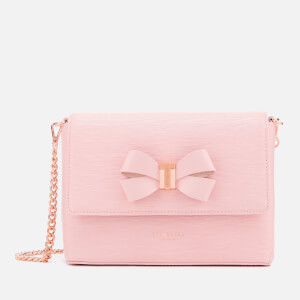 Ted Baker Women's Bow Detail Mini Bark Cross Body Bag - Light Pink