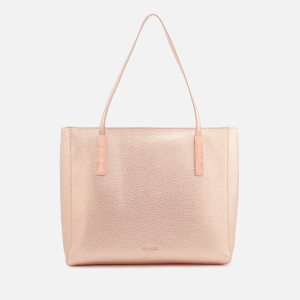 Ted Baker Women's Paigie Soft Grain Large Zip Tote Bag - Rose Gold