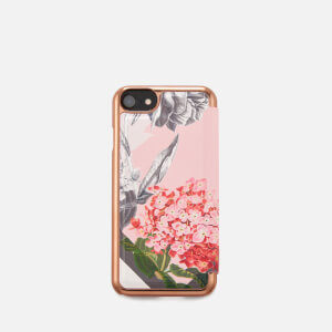 Ted Baker Women's Carolyn Palace Garden iPhone Flip Case - Dusky Pink