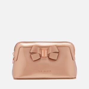 Ted Baker Women's Lezlie Bow Make Up Bag - Rose Gold