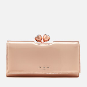 Ted Baker Women's Honeyy Twisted Bobble Patent Matinee Purse - Rose Gold