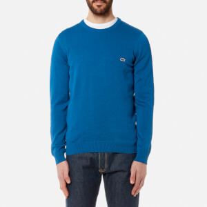 Lacoste Men's Basic Crew Knitted Jumper - Electrique
