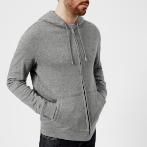 Lacoste Men's Zipped Hoody - Galaxite Chine