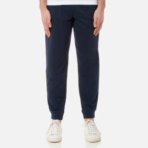 Lacoste Men's Fleece Track Pants - Navy Blue