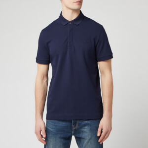 Lacoste Men's Short Sleeve Paris Polo Shirt - Navy