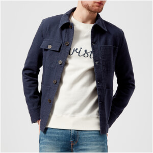 Maison Kitsuné Men's Artist Jacket - Navy