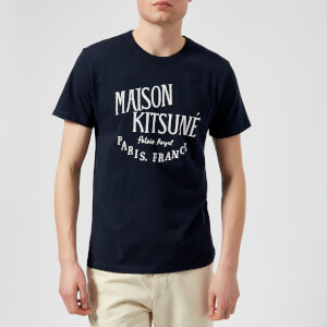 Maison Kitsuné Men's Palais Royal Crew Neck T-Shirt - Navy