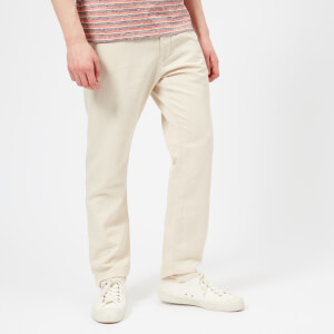 Maison Kitsuné Men's Parfait Chinos - Light Brown