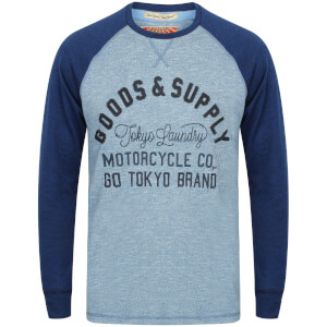 T-Shirt Manches Longues Homme Redwing Tokyo Laundry - Bleu