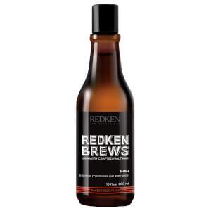Redken Brews 3-In-1 Shampoo, Conditioner and Body Wash 10.1 oz