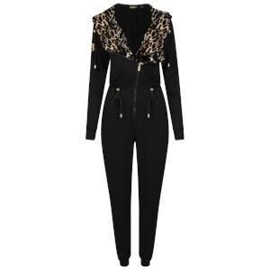 Bronzie Chelsea Jumpsuit - Leopard