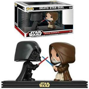 Star Wars Movie Moments Darth Vader & Obi Wan Kenobi EXC Pop! Vinyl Figure 2-Pack