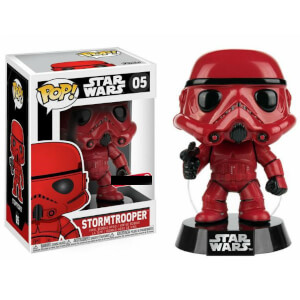 Figurine Pop! EXC Stormtrooper Rouge - Star Wars