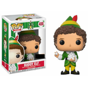 Elf Buddy with Snowballs EXC Pop! Vinyl Figur