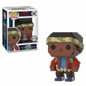 Figura Pop! Vinyl Exclusiva Lucas - Stranger Things - 8 Bit