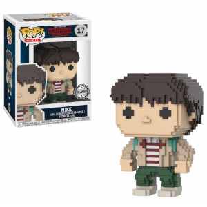 8-Bit Stranger Things Mike EXC Pop! Vinyl Figur