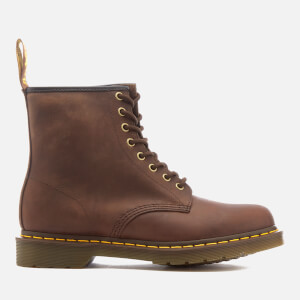 Dr. Martens Men's 1460 Crazy Horse Leather 8-Eye Lace Up Boots - Gaucho