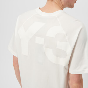 Y-3 Men's Cl Logo Back Short Sleeve T-Shirt - Core White