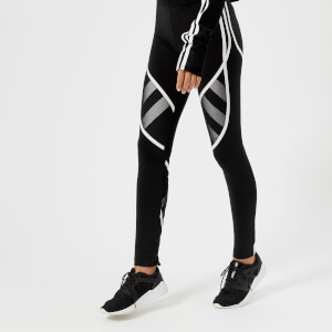 Y-3 Women's Mesh Leggings - Black/Core White