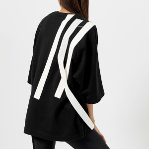 Y-3 Women's Bold Stripe Sweatshirt - Black/Core White