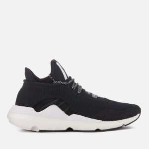Y-3 Saikou Trainers - Core Black