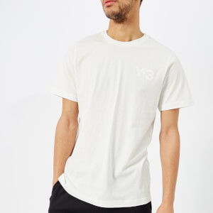 Y-3 Men's Cl Short Sleeve Front Logo T-Shirt - Core White