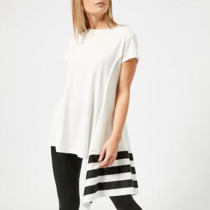 Y-3 Women's Stripe T-Shirt - Core White/Black