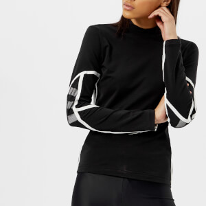 Y-3 Women's Mesh Long Sleeve T-Shirt - Black/Core White