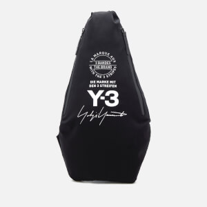 Y-3 Yohji Messenger Bag - Black