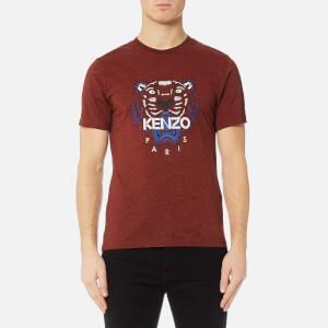 KENZO Men's Tiger Icon T-Shirt - Bordeaux