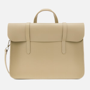 The Cambridge Satchel Company Women's Folio - Putty Saffiano