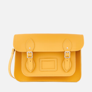 The Cambridge Satchel Company Women's 13 Inch Magnetic Satchel - Mustard Matte