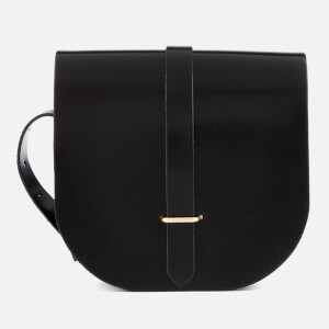 The Cambridge Satchel Company Women's Saddle Bag - Patent Black