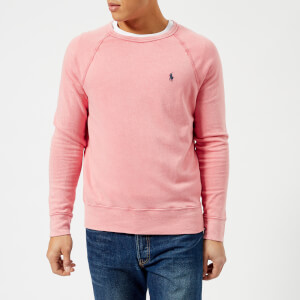 Polo Ralph Lauren Men's Crew Neck Sweatshirt - Hyannis Red