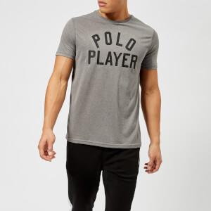Polo Ralph Lauren Men's Polo Logo Crew Neck T-Shirt - Foster Grey Heather