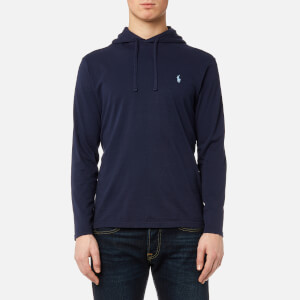 Polo Ralph Lauren Men's Hooded Jersey Pop Over - Newport Navy