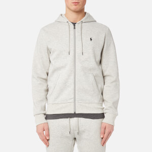 Polo Ralph Lauren Men's Double Knit Full Zip Hoodie - Sport Heather