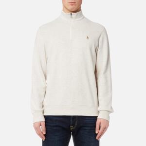 Polo Ralph Lauren Men's Half Zip Sweatshirt - American Heather