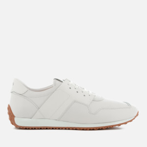 Tod's Men's Leather Trainers - White
